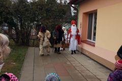 Návštěva Mikuláše ve školce