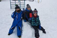 Užíváme si sněhu